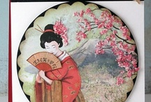 Asian inspired cards and paper projects / by Susan Hirsch