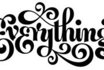 Lettering + Type