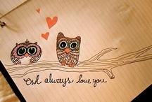 Owls are a Hoot! / by Jenna Hangen
