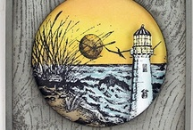 Cards With A Lighthouse / Nautical theme / by Susan Hirsch