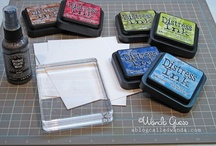 Distress, Alcohol, & other inks tutorials and tips / by Susan Hirsch