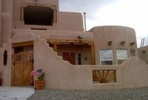 Adobe~Spanish Colonial~Pueblo Revival / Ideas for our home in ABQ...........