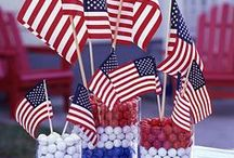 Red, White & Blue / by Sheila Norton