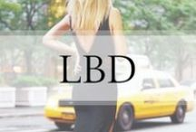 Little Black Dress / LBDs / by Ashley In DC