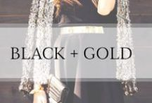 Black + Gold / by Ashley In DC