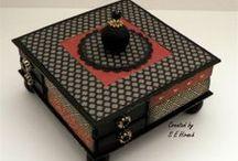 Altered matchboxes / by Susan Hirsch