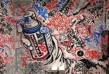 Street Art / Get your art supplies at www.evergreenartsupply.com