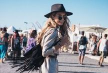 | Festival Fashion | / A collection of bohemian outfit ideas for this summers festivals.