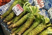 Wasabi Rezepte / Rezepte in der scharfe, grüne japanische Meerrettich Wasabi verwendet wird // japanese horseradish // // わさび