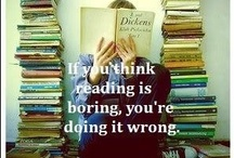 reading is cool / by Cristina Vuong
