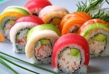 Sushi / food / by Jennifer King