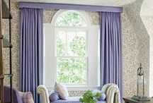 Window Treatments / Window treatments. Draperies and curtains.
