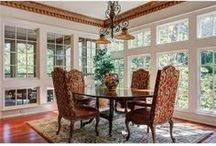 Dining Rooms / Dining room decorating ideas.