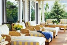 Outdoor Living Spaces / Outdoor living spaces are an extention of your inner home.