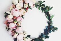 Garden Love / Garden wedding inspiration.