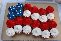 Patriotic Holidays - Recipes - Crafts - Ideas / by Peggy Parker