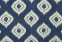 Ikat Motif Fabrics / Ikat fabric is made using an Indonesian decorative technique in which warp or weft threads, or both, are tie-dyed before weaving. It's pronounced /ˈēkät/