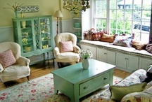 Cabins, Cottage and Vacation Home Ideas / Cabins, cottages and vacation homes should be an oasis for you and your family and friends. Aim for comfy, cozy, warm and inviting when decorating your get-a-way.