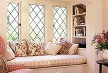 Window Seats / Window seats add a finishing touch for just decor or a reading nook area.