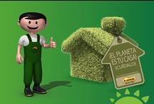 Campaña Green / El Planeta es Nuestra Casa, aprendamos a Reciclar, Reutilizar, Reducir ¡Juntos!... para vivir mejor y en armonia con el ambiente