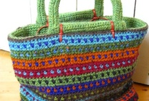 Needlework: Containers / Bags, baskets and other containers / by Bonnie Eis