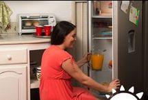 Linea Blanca / Para cuidar tus alimentos, Para cuidar tu ropa, Para preparar esos platillos que tanto te gustan, Para vivir mejor.