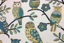 Novelty Print Fabrics / Novelty print fabrics add a touch of surprise to your decorating!