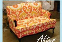 Sofettes / Loveseats / A sofette is a small scale sofa or a larger chair. Great for apartments, smaller living spaces, bedrooms. Anywhere where space is tight.
