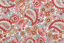 Paisley Prints / Paisley printed fabrics in home decorating.