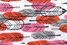 Vintage Fabric Designs / Old designs become new again... and fresh!