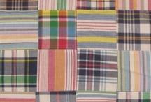 Madras Fabrics / Madras fabrics and design are your basic plaids.