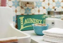 Laundry rooms / Laundry rooms - you spend a lot of time in them, they should be pleasing to be in!