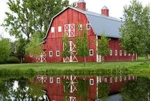Barns / Not sure if it's the Midwesterner in us but barns catch our attention when we drive.