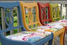 Painted Furniture / Creative ways to hand paint furniture.