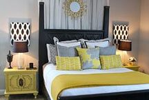Grey Fabric and Design ideas / Grey is HOT now in home decorating!