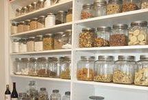 Pantry Essentials / Organization, ingredients, etc.
