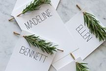 Winter Love / Winter wedding inspiration.