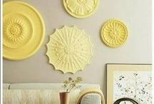 Wall Art / Blank wall = blank canvas! You can get creative with all kinds of items to decorate your wall.