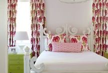 Bedrooms - Feminine Decor / Decorating ideas for a girly bedroom.