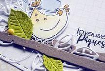 Joyeuses Pâques & La chasse aux oeufs #4enSCRAP / Les créations de l'Equipe Créative