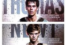 the maze runner / i fucking love his movie and series ^^