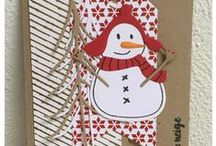 Les joies de la neige #4enSCRAP / Les créations de l'équipe créative