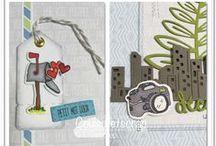 Voie postale #4enSCRAP / Les créations de l'équipe créative