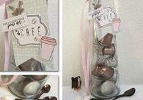 Thé café et chocolat #4enSCRAP / Les créations de l'Equipe Créative