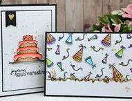 Gâteau & bougies & C'est mon anniversaire #4enSCRAP / Les créations de l'Equipe Créative