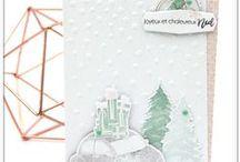 Décorer le sapin & Petits plaisirs de Noël #4enSCRAP / Les créations de l'équipe créative