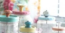 Jar Uses / Hundreds of ideas what to do with old jars. Love them, esp since they're cheap!