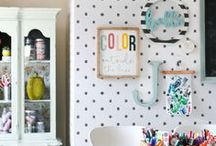 Wall Decor / All things related to dressing up your walls! We hate empty white walls, eek! *Also see our PICTURE MANTEL AND GALLERIES board for cute groupings on your walls.