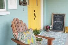 Outdoor Spaces / The outdoors are naturally gorgeous, make your outdoor space more enjoyable!