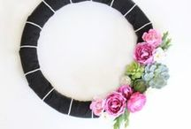 Craft: Wreaths / So many wreaths, so little holidays! / by Lolly Jane